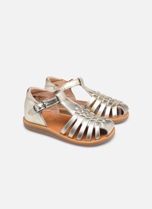 Sandali e scarpe aperte Pom d Api Poppy Pitti Oro e bronzo immagine 3/4