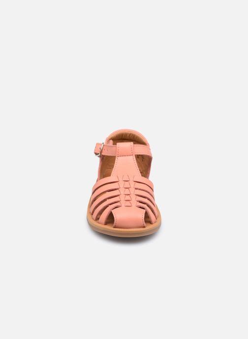 Sandales et nu-pieds Pom d Api Poppy Pitti Orange vue portées chaussures