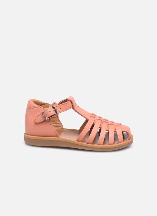 Sandales et nu-pieds Pom d Api Poppy Pitti Orange vue derrière