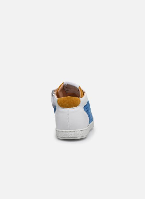 Bottines et boots Pom d Api Mousse Zip Clay Bleu vue droite