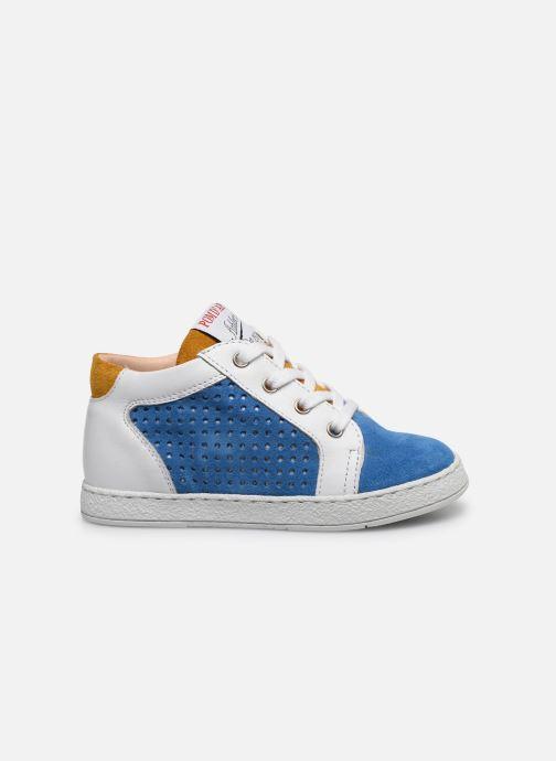 Bottines et boots Pom d Api Mousse Zip Clay Bleu vue derrière