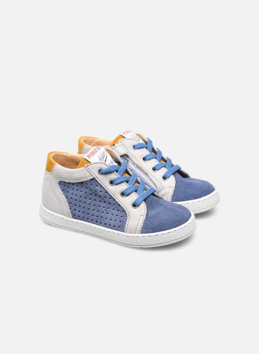 Stiefeletten & Boots Pom d Api Mousse Zip Clay blau 3 von 4 ansichten