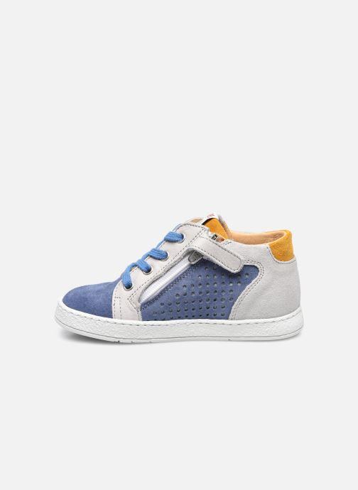Stiefeletten & Boots Pom d Api Mousse Zip Clay blau ansicht von vorne