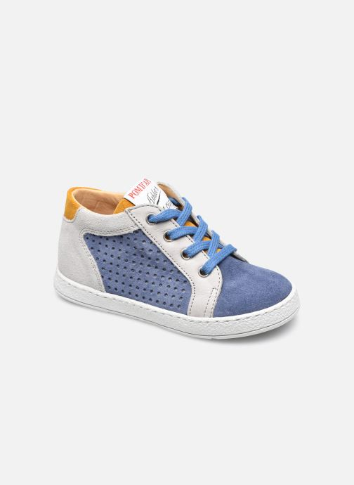 Stiefeletten & Boots Pom d Api Mousse Zip Clay blau detaillierte ansicht/modell