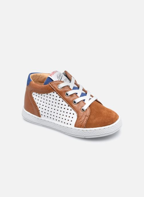 Stiefeletten & Boots Pom d Api Mousse Zip Clay braun detaillierte ansicht/modell