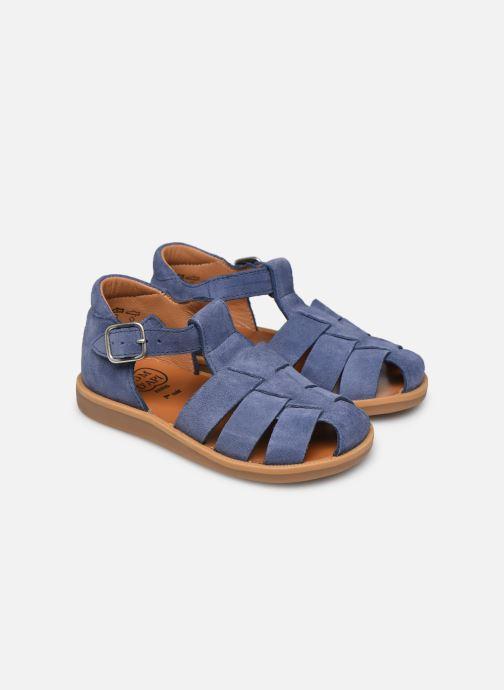 Sandalen Pom d Api Poppy Daddy blau 3 von 4 ansichten