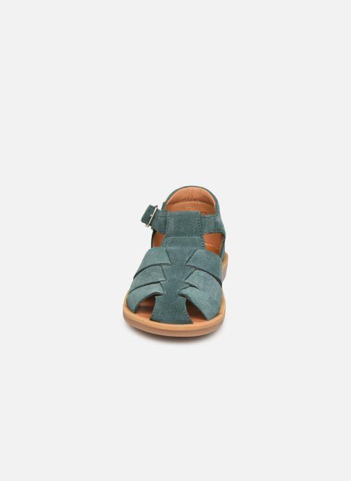 Sandales et nu-pieds Pom d Api Poppy Daddy Vert vue portées chaussures