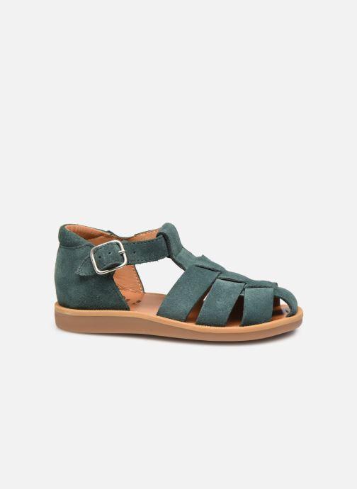 Sandales et nu-pieds Pom d Api Poppy Daddy Vert vue derrière