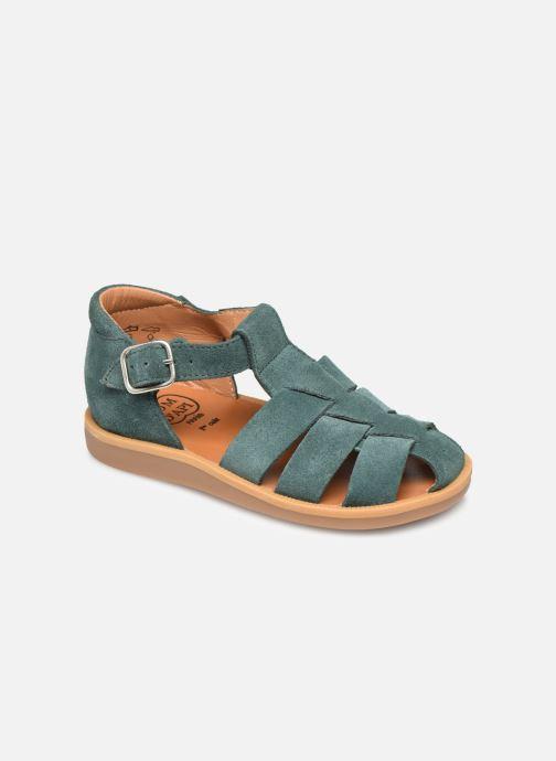 Sandales et nu-pieds Pom d Api Poppy Daddy Vert vue détail/paire