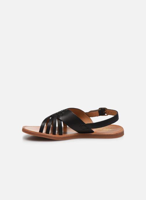 Sandalen Pom d Api Plagette Cut Zwart voorkant