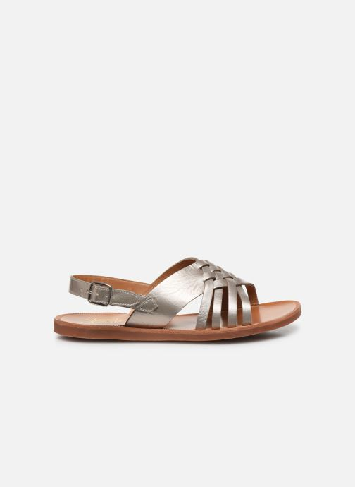 Sandales et nu-pieds Pom d Api Plagette Cut Or et bronze vue derrière