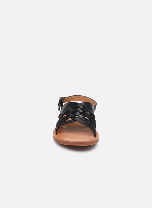 Sandalen Pom d Api Plagette Cut schwarz schuhe getragen