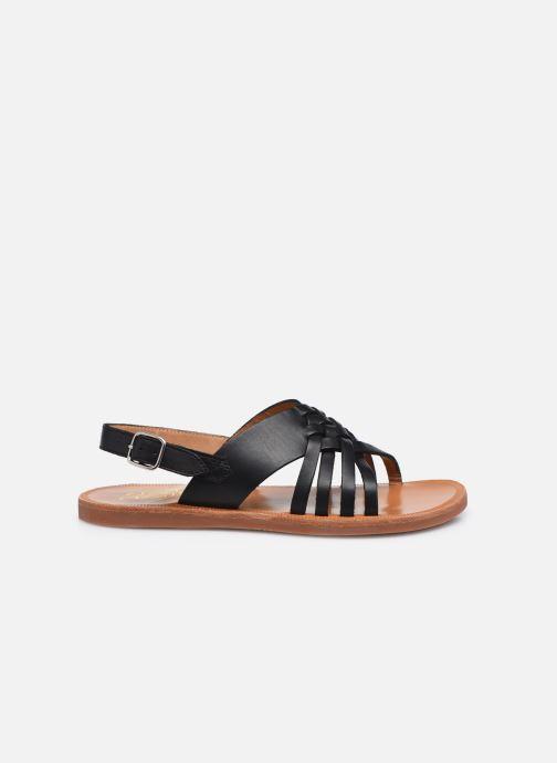 Sandalen Pom d Api Plagette Cut schwarz ansicht von hinten