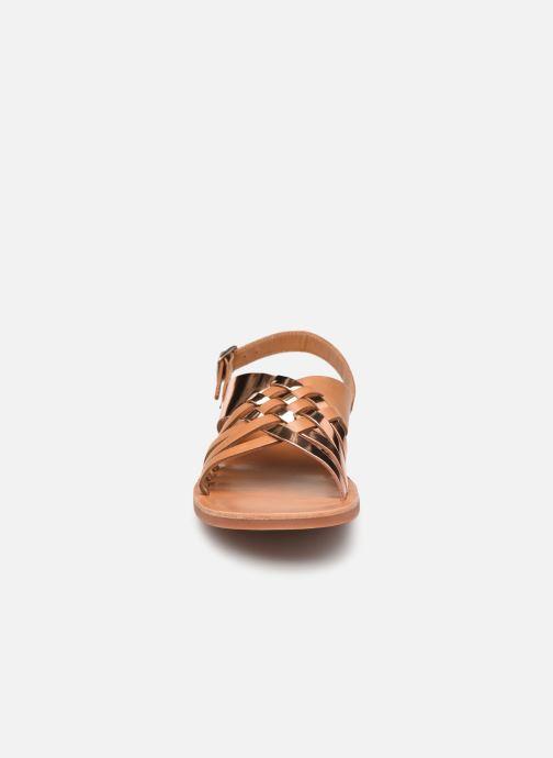 Sandalen Pom d Api Plagette Cut braun schuhe getragen