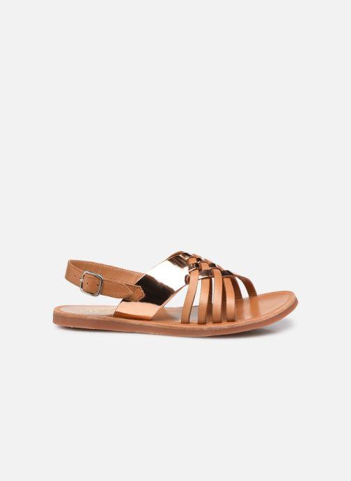 Sandalen Pom d Api Plagette Cut braun ansicht von hinten