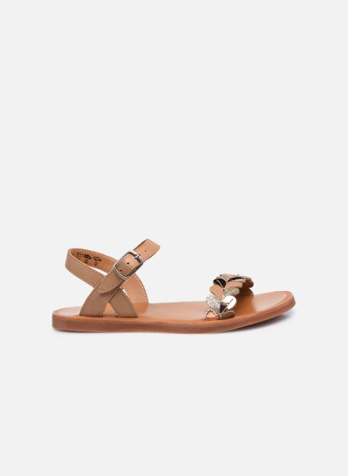 Sandali e scarpe aperte Pom d Api Plagette Ferns Marrone immagine posteriore