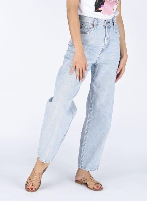 Clogs & Pantoletten Notabene Sahara braun ansicht von unten / tasche getragen