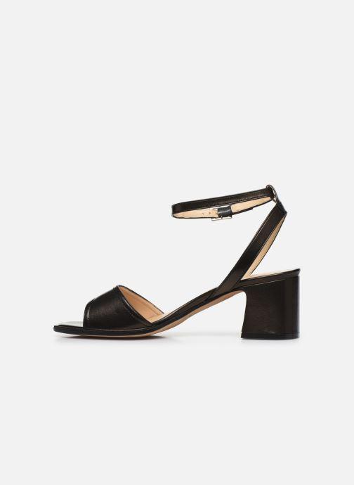 Sandalen Notabene Naima schwarz ansicht von vorne
