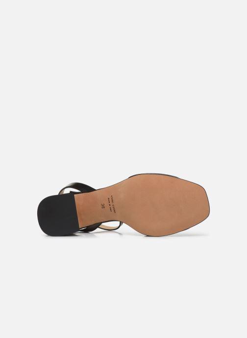 Sandalen Notabene Naima schwarz ansicht von oben