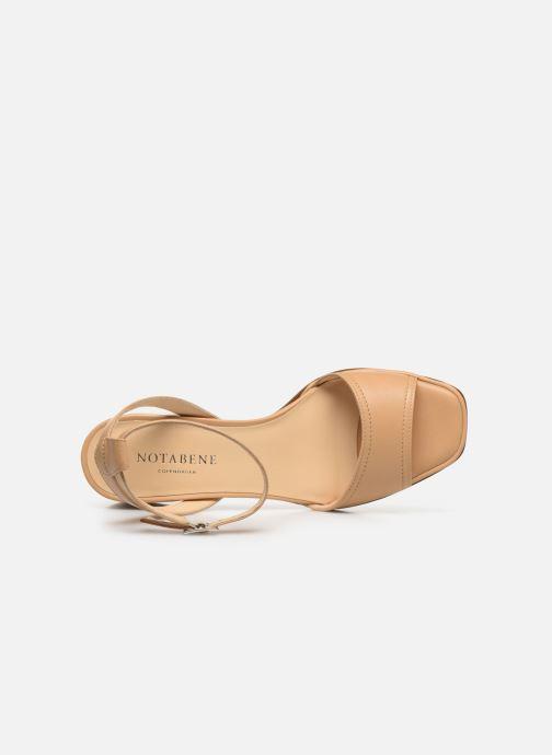 Sandali e scarpe aperte Notabene Naima Beige immagine sinistra