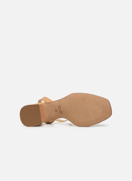 Sandali e scarpe aperte Notabene Naima Beige immagine dall'alto