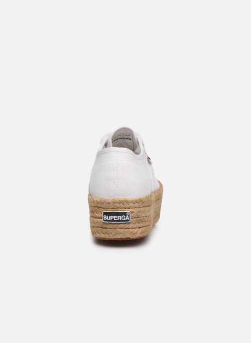 Baskets Superga 2790 Cotropew C20 Blanc vue droite