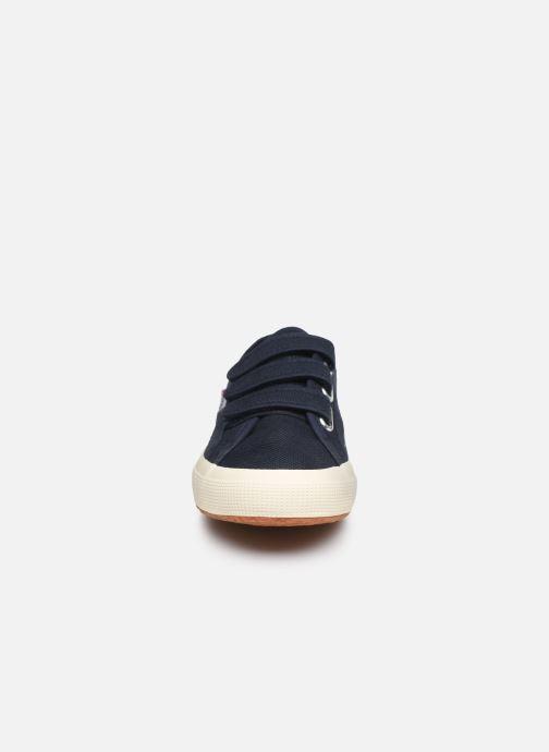 Baskets Superga 2750 Cot 3 Strapu C20 M Noir vue portées chaussures