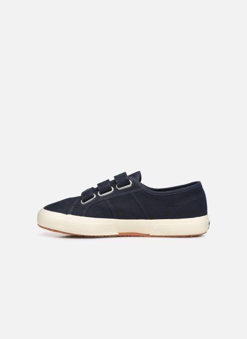Sneakers Superga 2750 Cot 3 Strapu C20 M Zwart voorkant