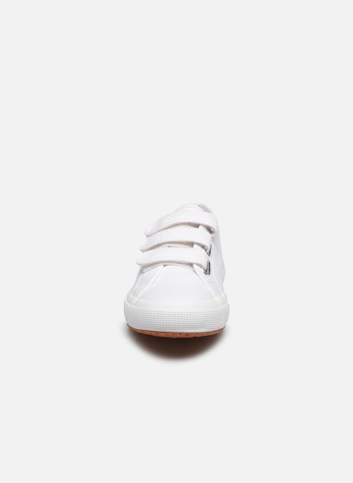 Sneaker Superga 2750 Cot 3 Strapu C20 M weiß schuhe getragen