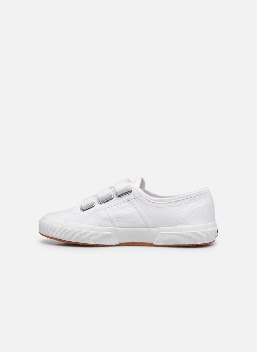 Sneaker Superga 2750 Cot 3 Strapu C20 M weiß ansicht von vorne