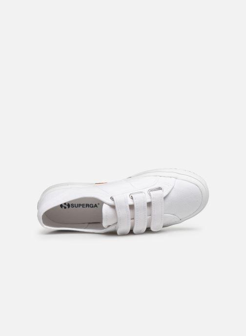 Sneaker Superga 2750 Cot 3 Strapu C20 M weiß ansicht von links