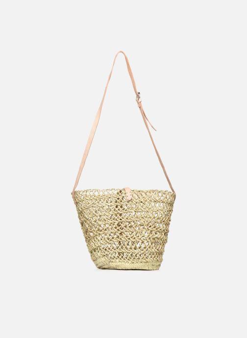 Handtaschen Etincelles Sac Ajouré beige schuhe getragen