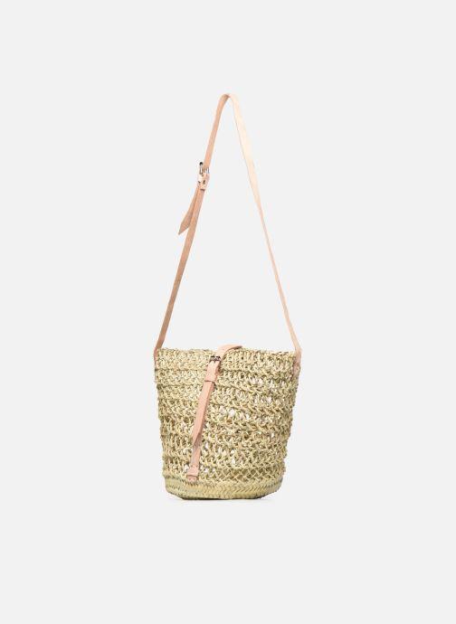 Handtaschen Etincelles Sac Ajouré beige ansicht von vorne