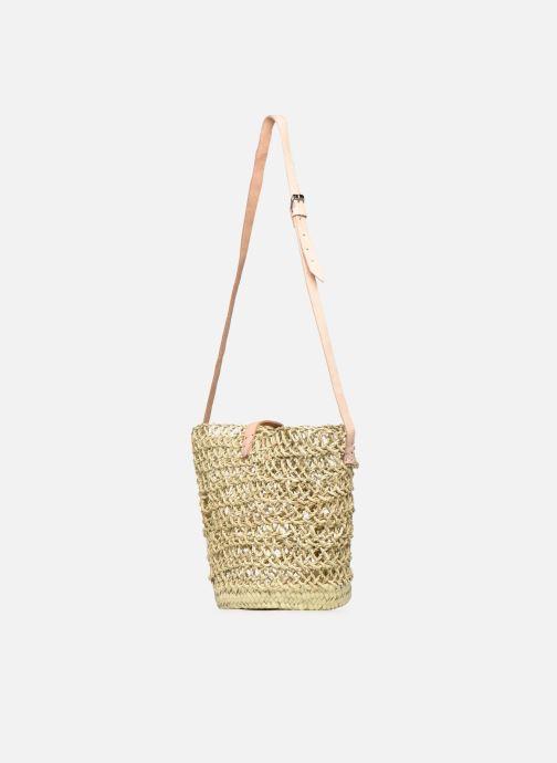 Handtaschen Etincelles Sac Ajouré beige ansicht von rechts