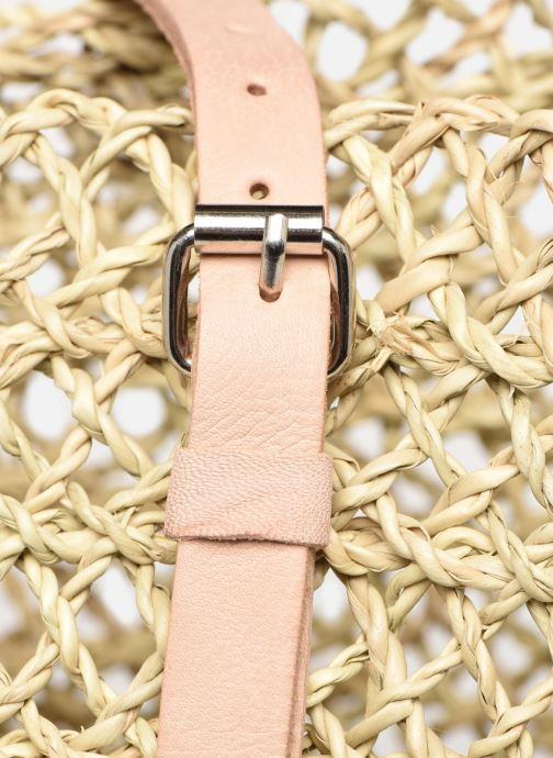 Handtaschen Etincelles Sac Ajouré beige ansicht von links