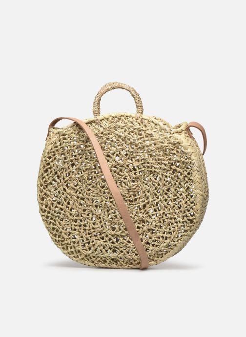 Handtaschen Etincelles Panier Rond Ajouré beige ansicht von vorne