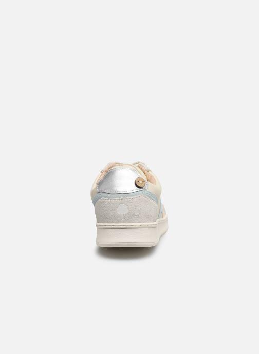 Baskets Faguo Hazel Leather C M VP Blanc vue droite