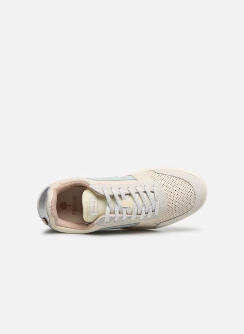 Sneaker Faguo Hazel Leather C M VP weiß ansicht von links