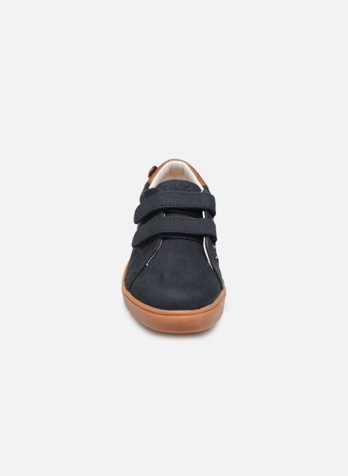 Baskets Faguo Aspenlowv N VP Bleu vue portées chaussures
