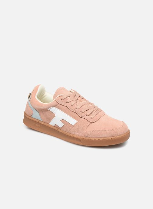 Sneaker Faguo BASKETS HAZEL SUEDE VP rosa detaillierte ansicht/modell
