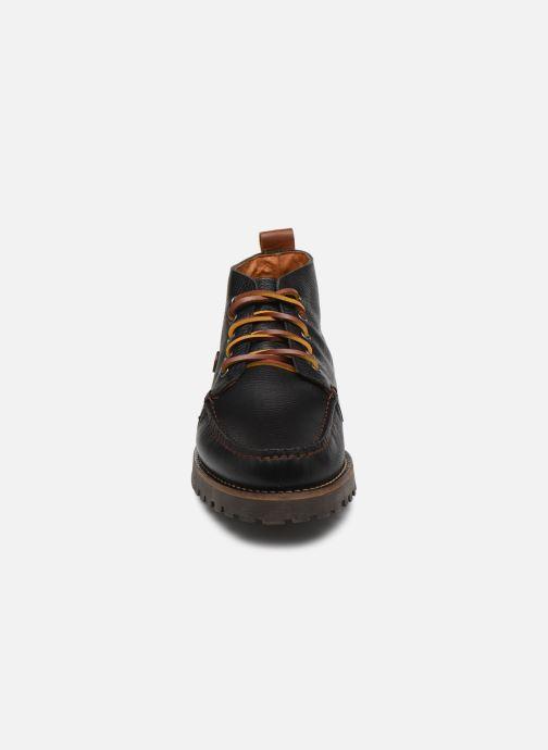 Bottines et boots Faguo BOOTS LARCHMID LEATHER VP Noir vue portées chaussures