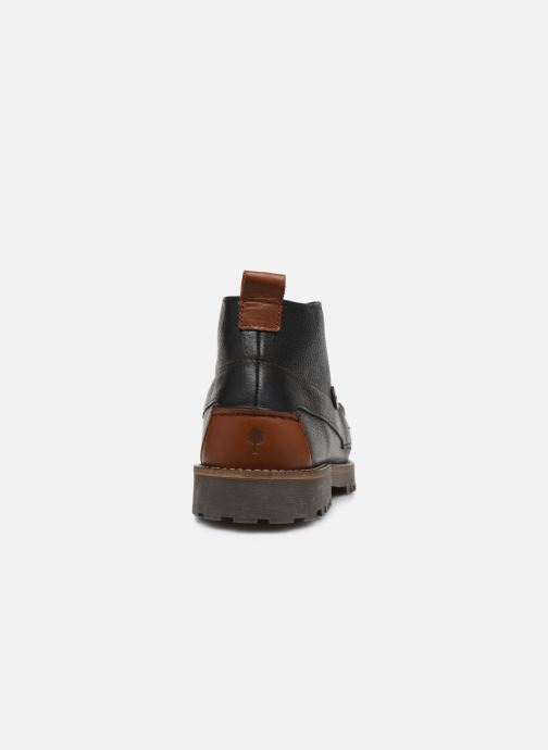 Bottines et boots Faguo BOOTS LARCHMID LEATHER VP Noir vue droite