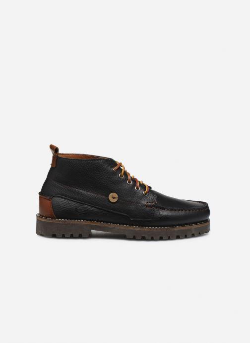 Bottines et boots Faguo BOOTS LARCHMID LEATHER VP Noir vue derrière
