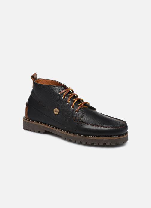 Bottines et boots Faguo BOOTS LARCHMID LEATHER VP Noir vue détail/paire