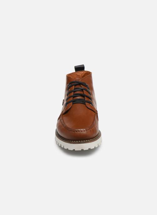Bottines et boots Faguo BOOTS LARCHMID LEATHER VP Marron vue portées chaussures