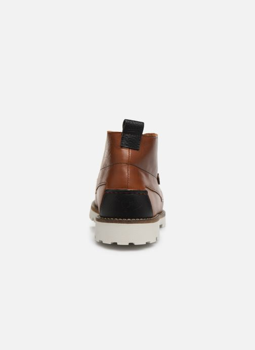 Ankle boots Faguo BOOTS LARCHMID LEATHER VP Brown view from the right