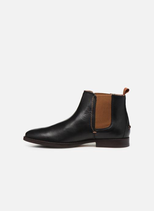 Bottines et boots Faguo Cork Leather  VP Noir vue face