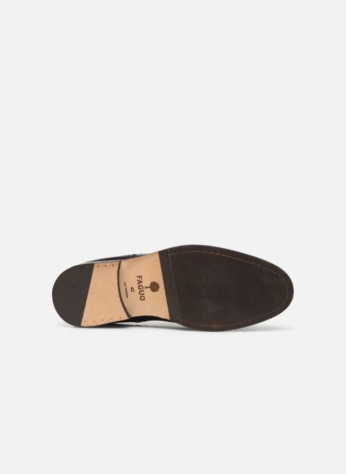 Bottines et boots Faguo Cork Leather  VP Noir vue haut