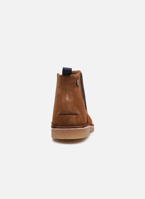 Bottines et boots Faguo Cork VP Marron vue droite
