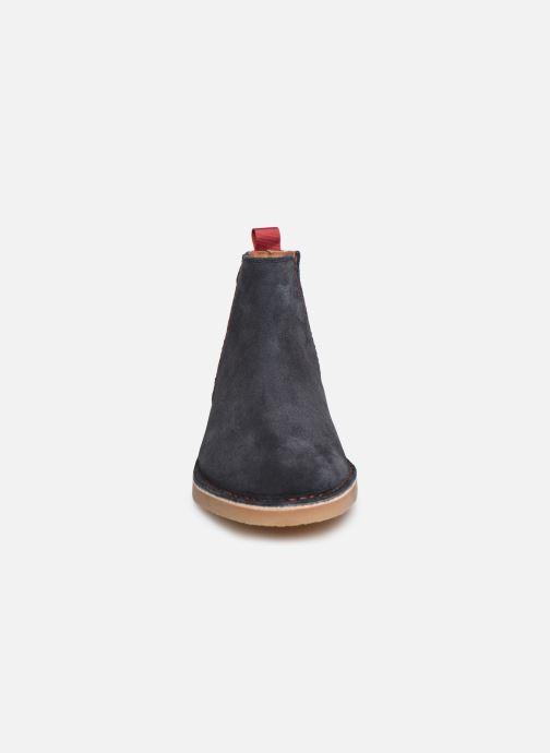 Bottines et boots Faguo Cork VP Bleu vue portées chaussures